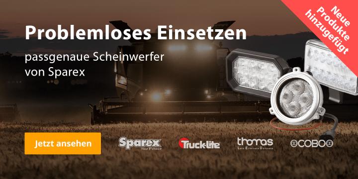 Traktor passende Beleuchtung